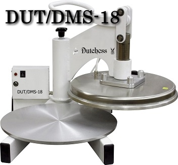 DUT/DMS-18 MANUAL PIZZA DOUGH PRESS